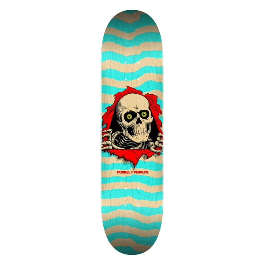 Ripper - Natural Turqouise - 8 | Deck by Powell Peralta 1