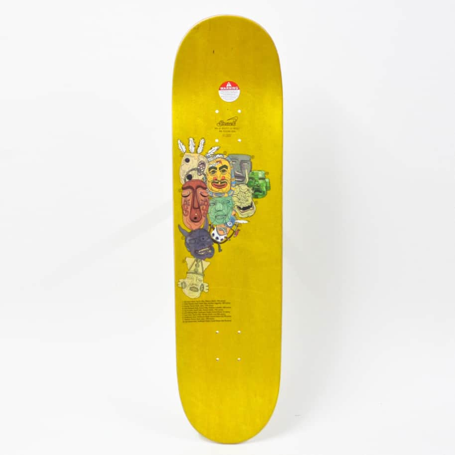 """Snack Cullen Mask Deck 8.0""""   Deck by Snack 2"""