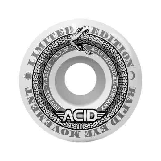 """Acid REM """"Limited"""" 56mm Double Radius 99a Wheels 