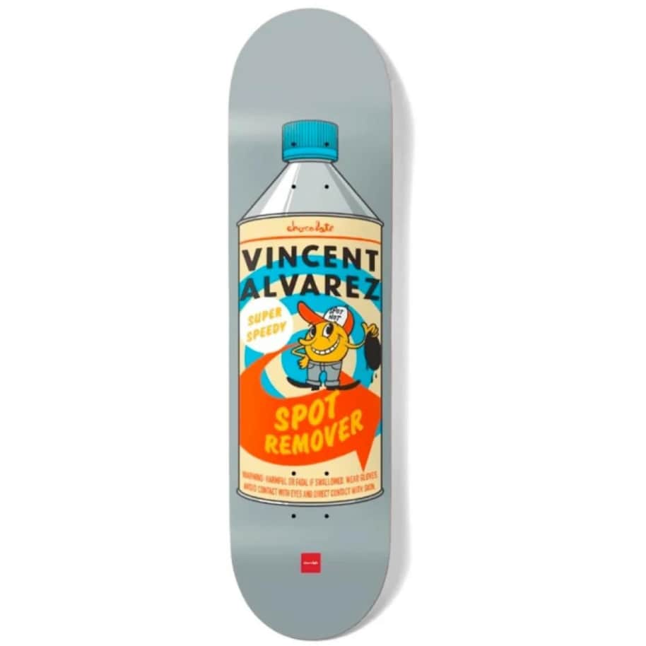Chocolate Vincent Alverez Essentials Deck - 8.25"