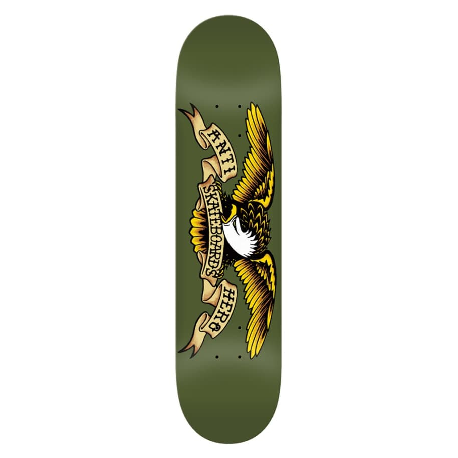 Classic Eagle Olive - 8.38 | Deck by Antihero Skateboards 1