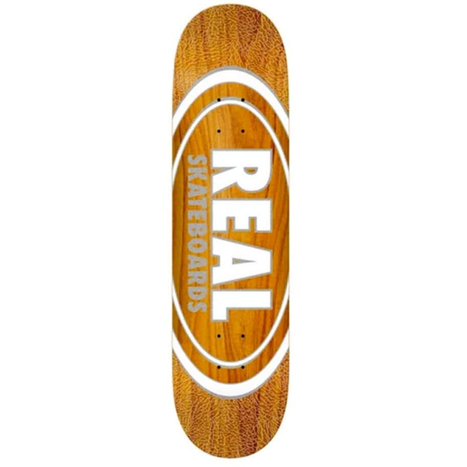 """Real Oval Pearl Pattern Deck 8.38"""" 