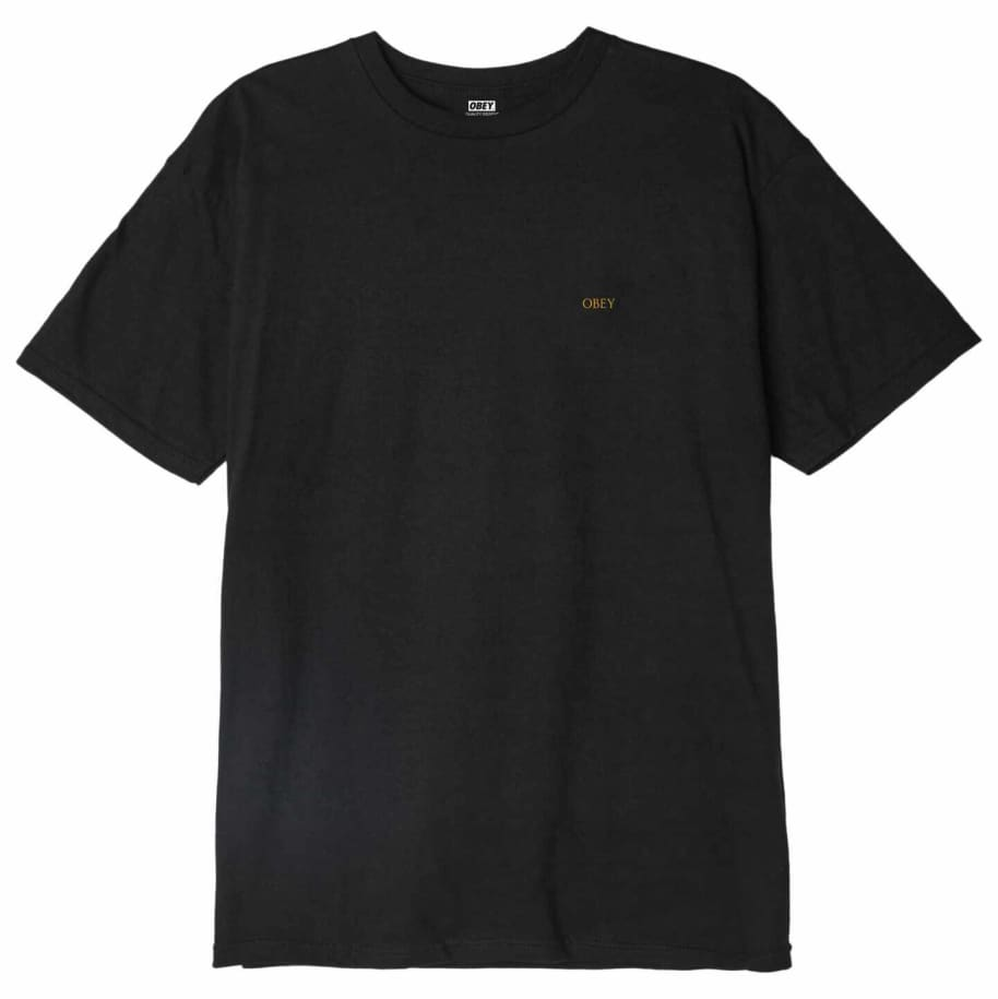 OBEY Radiant Lotus T-Shirt - Black | T-Shirt by OBEY Clothing 2