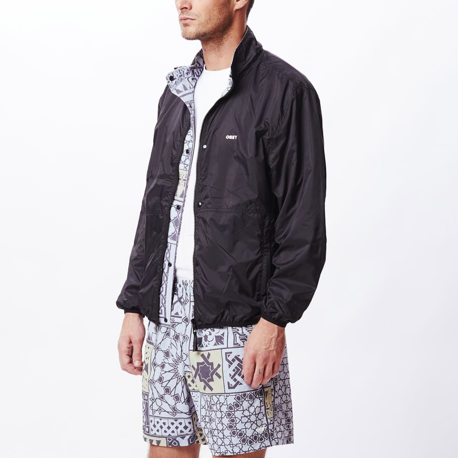 OBEY Patchwork Reversible Jacket - Black / Navy   Jacket by OBEY Clothing 4