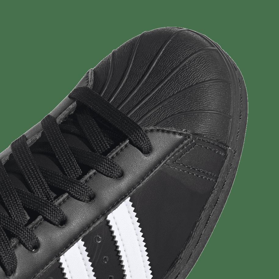 adidas Skateboarding Blondey Superstar Shoes - Core Black / Ftwr White / Core Black | Shoes by adidas Skateboarding 8