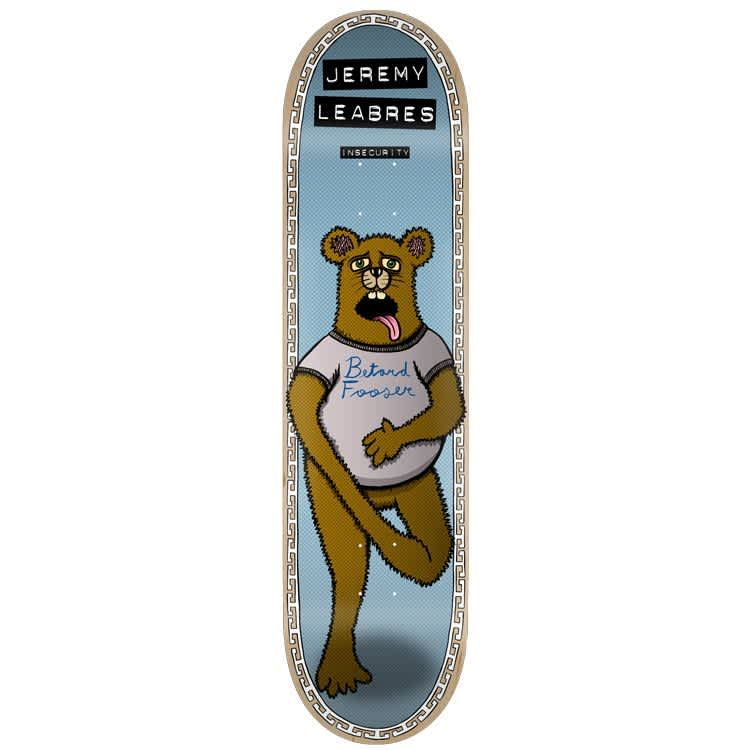 """Toy Machine - Jeremy Leabres Insecurity Deck (8"""")   Deck by Toy Machine 1"""