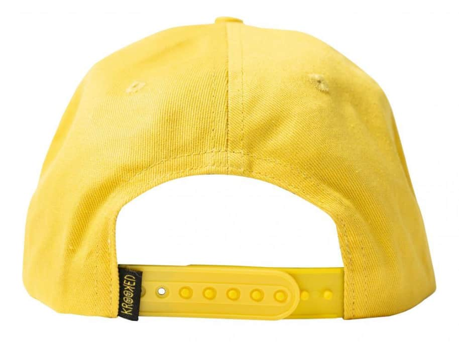 Shmoo Cap (Yellow) | Baseball Cap by Krooked Skateboards 2