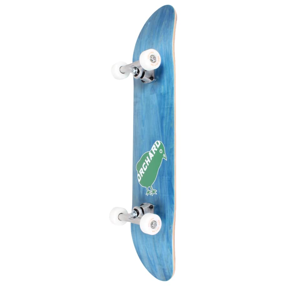 Orchard Green Bird Logo Hybrid Complete 7.8 Blue (With Free Skate Tool) | Complete Skateboard by Orchard 2