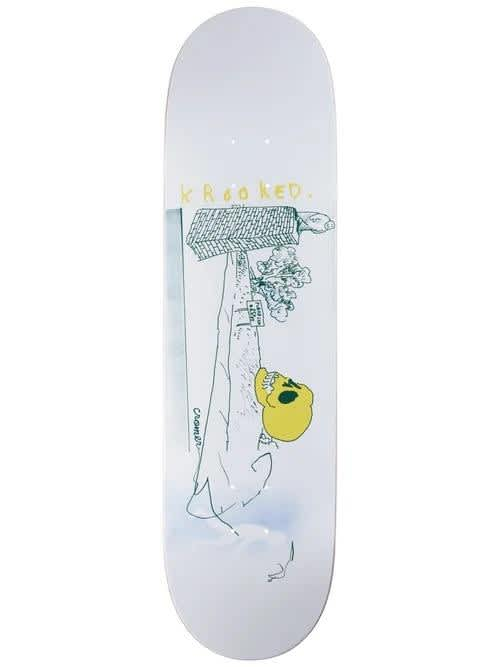 Krooked - Cromer Stay Off 8.38 | Deck by Krooked Skateboards 1