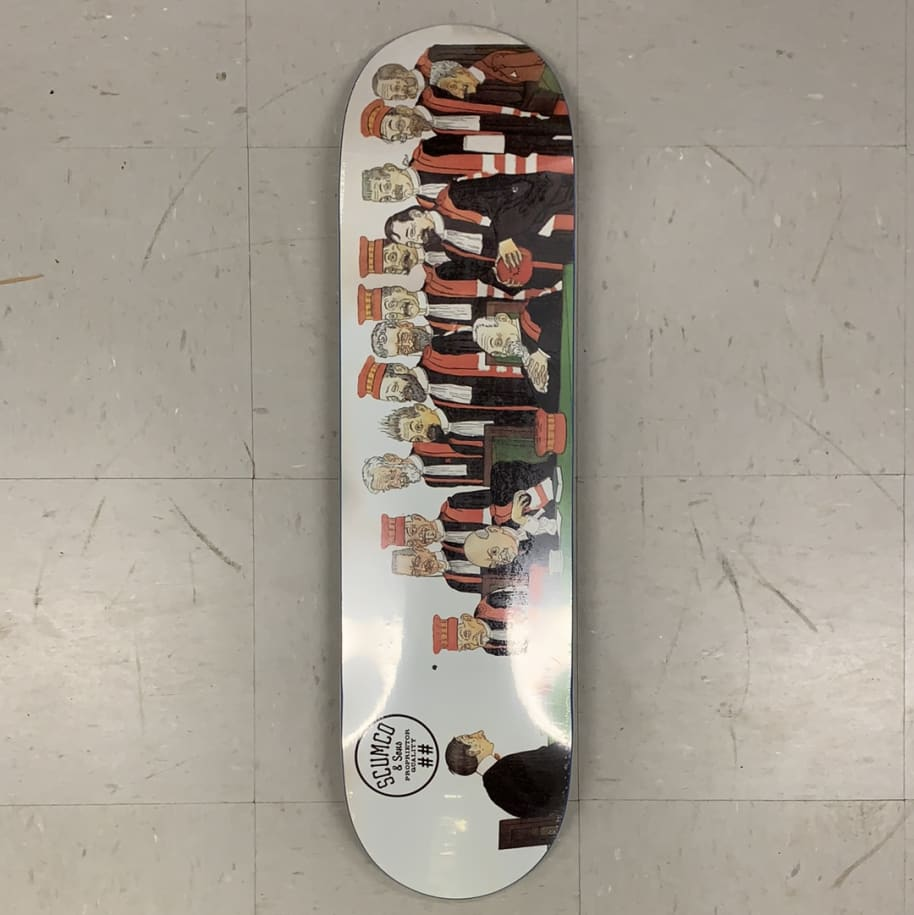 Scumco and Sons Skateboards Council of Men Deck | Deck by Scumco Skateboards 1