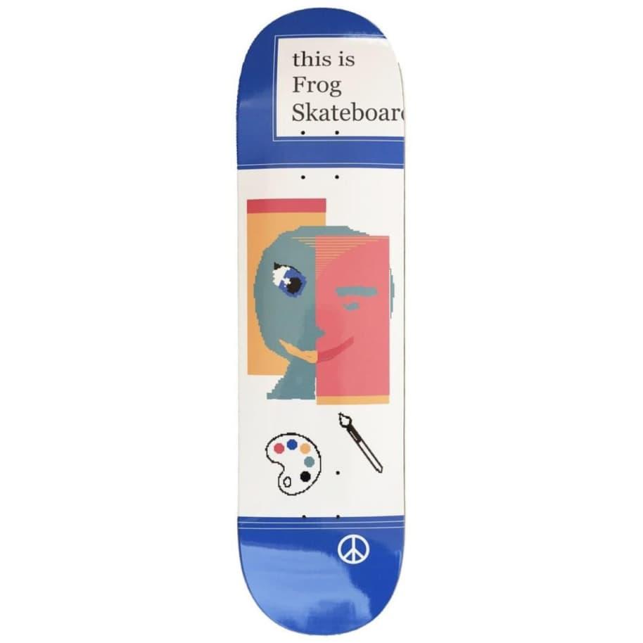 "Frog This Is Frog Skateboard Deck - 8""   Deck by Frog Skateboards 1"