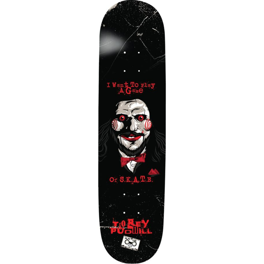 Thank You Torey Pudwill Play-A-Game Deck 8.25 | Deck by Thank You Skate Co 1