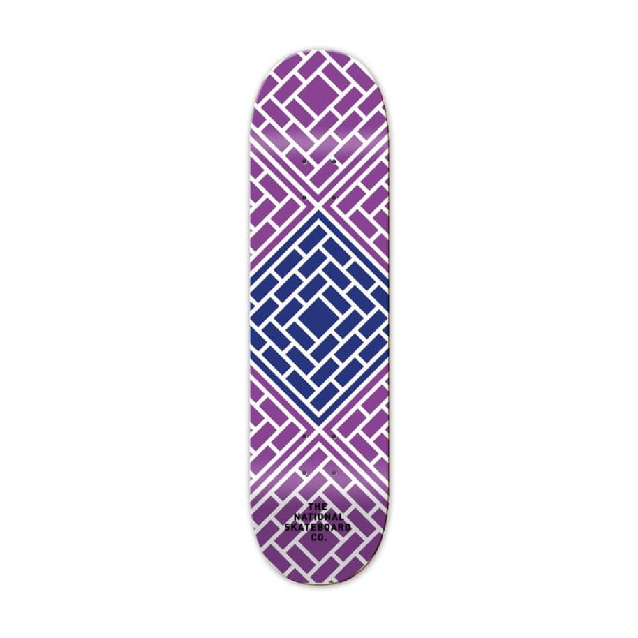 Classic Purple Deck   Deck by The National Skateboard Co. 1