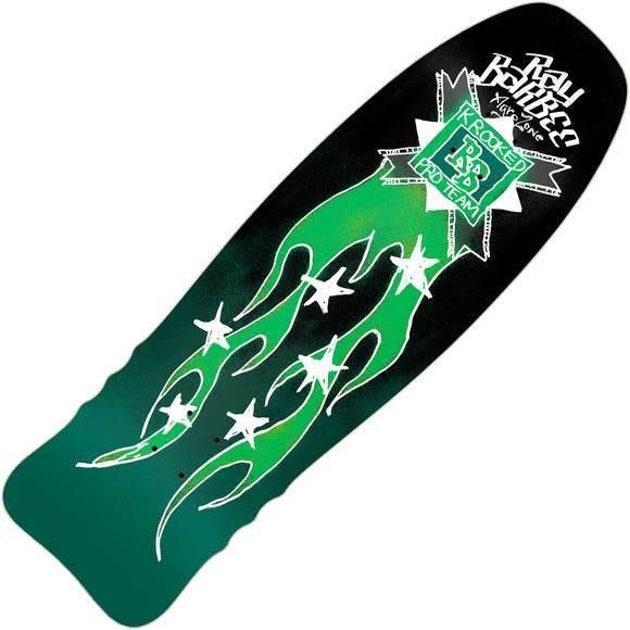 """Krooked Ray Barbee Flames Deck: 10.0"""" x 32.0""""   Deck by Krooked Skateboards 1"""