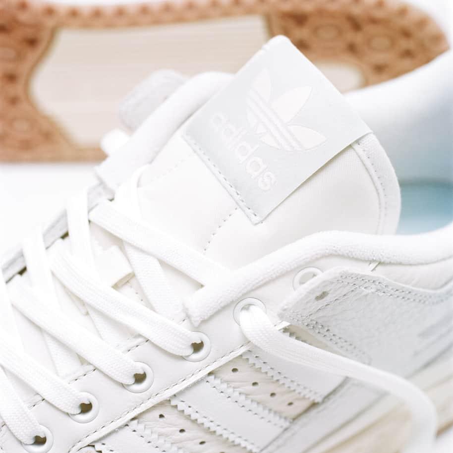 adidas Skateboarding Forum 84 Low ADV Shoes - Chalk White / Ftwr White / Cloud White | Shoes by adidas Skateboarding 14
