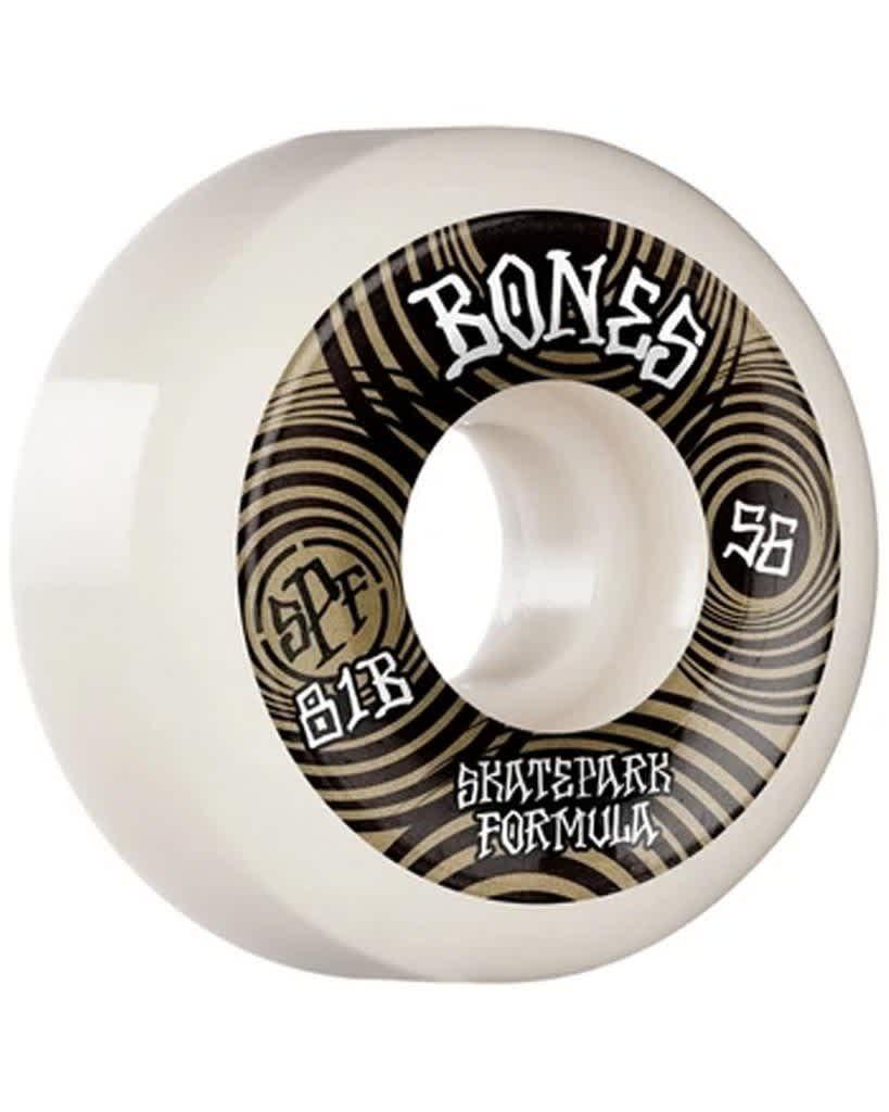 Bones SPF Ripples P5 Sidecut 81B Wheel 56mm | Wheels by BONES 1