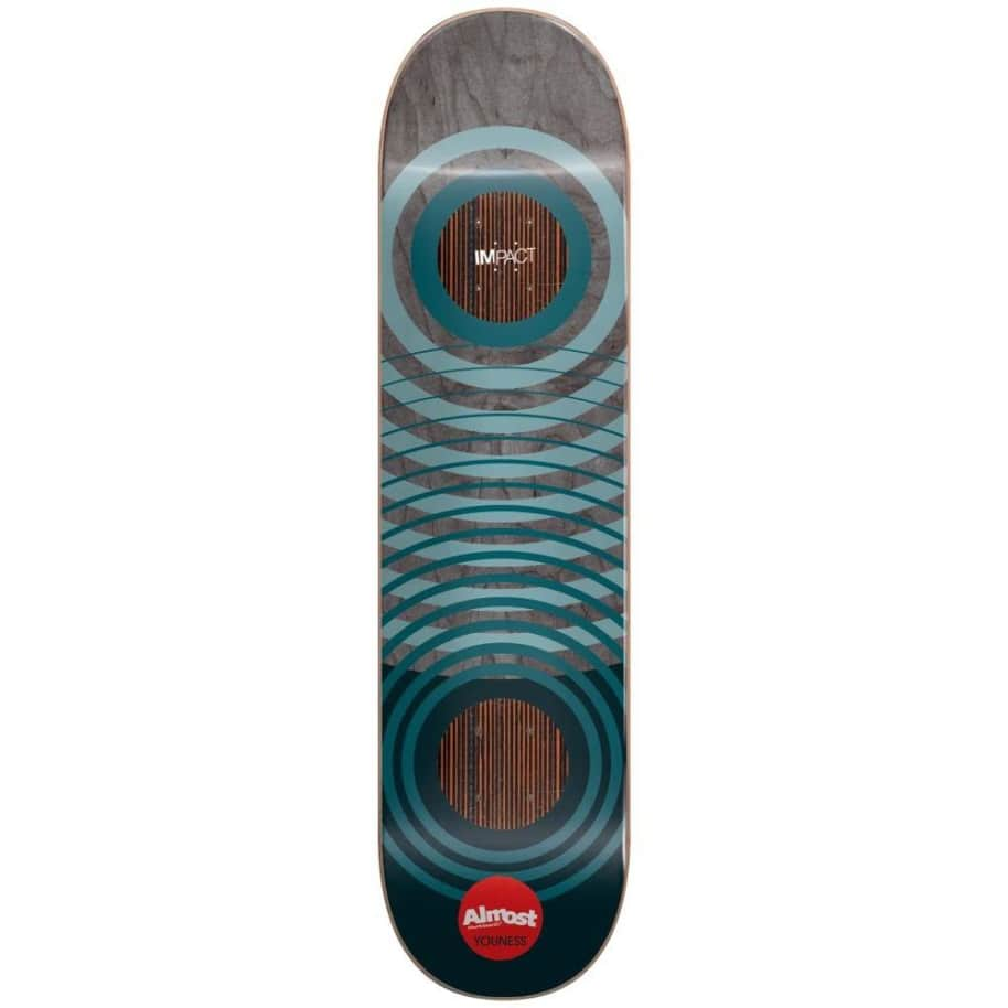 Almost Youness Natural Rings Impact Deck (8.25) | Deck by Almost Skateboards 1