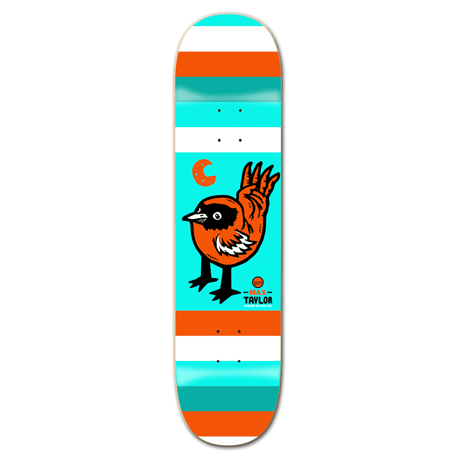 """Roger Skate Co Max Taylor Moon Bird Deck 8.5"""" 
