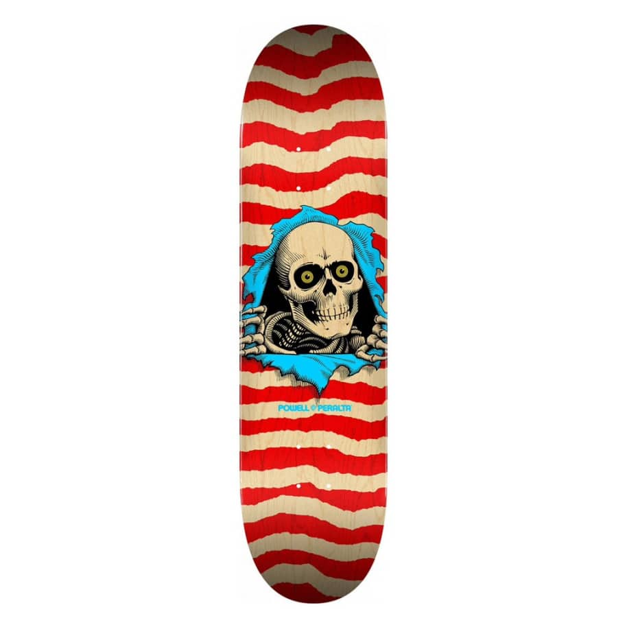 Ripper- Natural Red - 8.5 | Deck by Powell Peralta 1