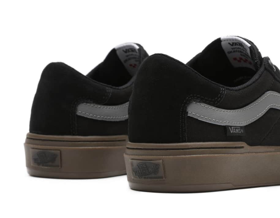 Vans Berle Pro Skate Shoes - Black / Dark Gum | Shoes by Vans 7