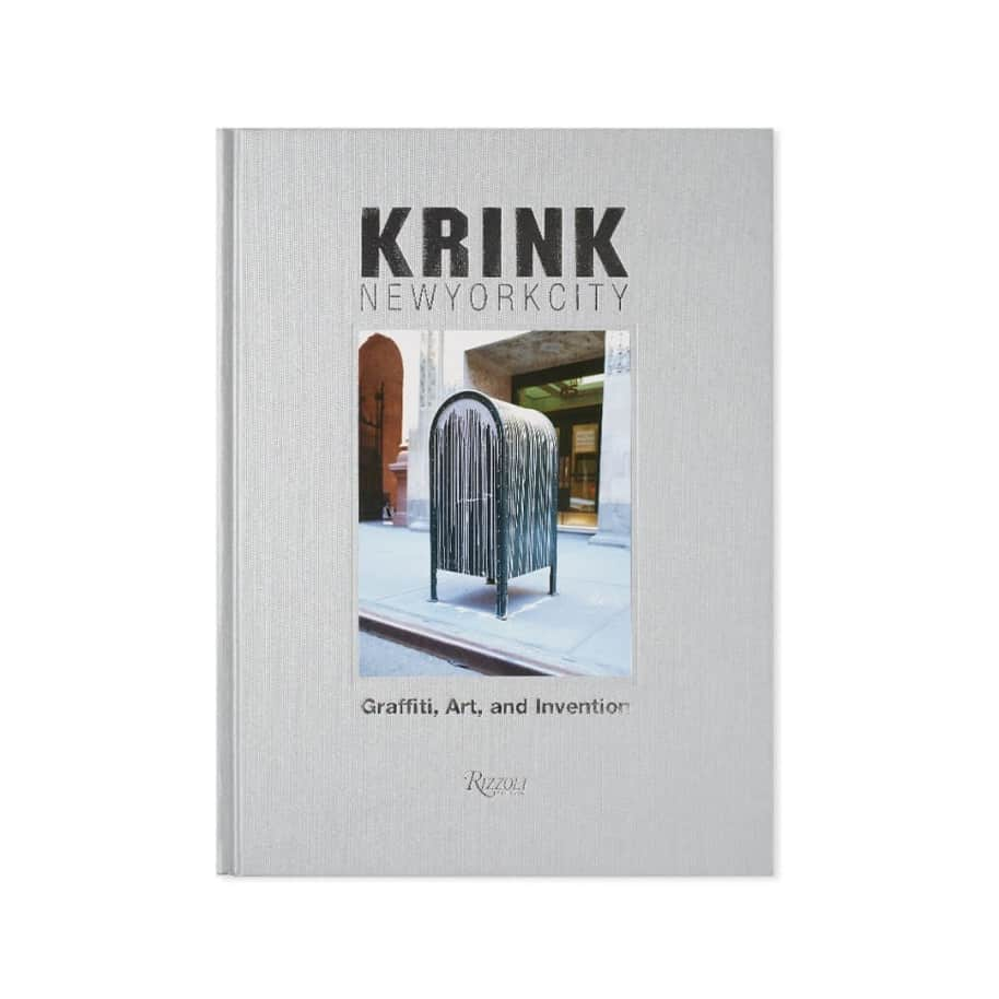 Rizzoli - KRINK New York City: Graffiti, Art, and Invention | Book by Rizzoli 1