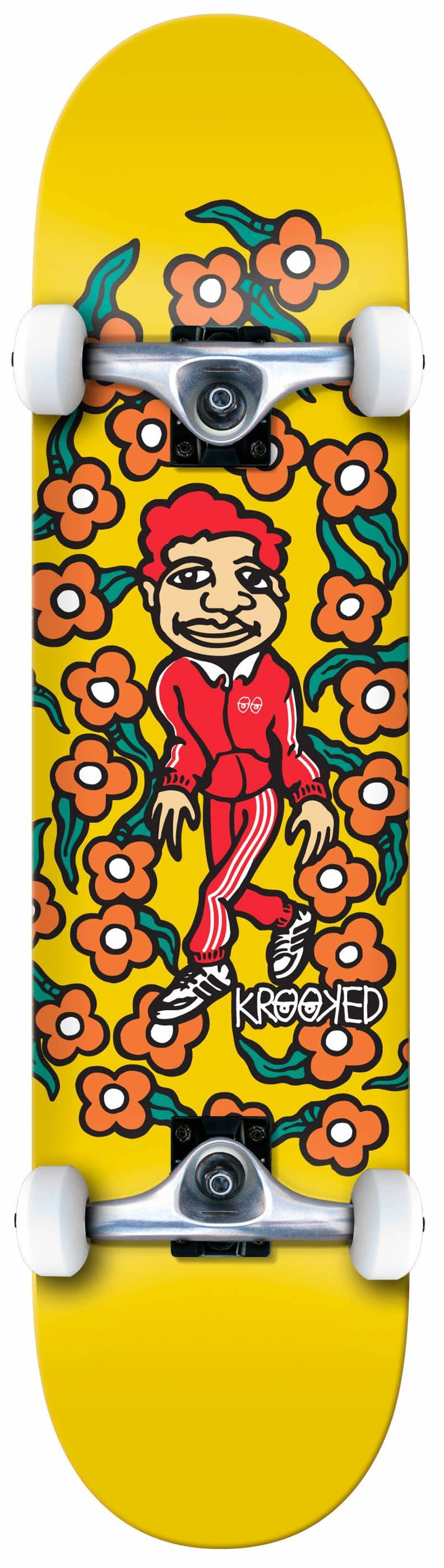 KROOKED Classic Sweatpants Complete Mini 7.3   Complete Skateboard by Krooked Skateboards 1