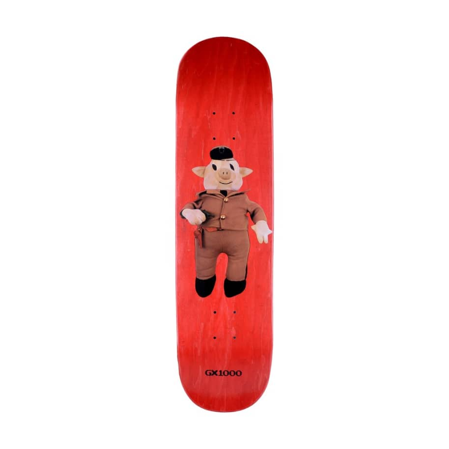 GX1000 Pig 3 Skateboard Deck - 8.25"