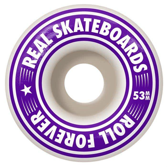 Real Golden Oval Outline Complete 8.0 | Deck by Real Skateboards 2