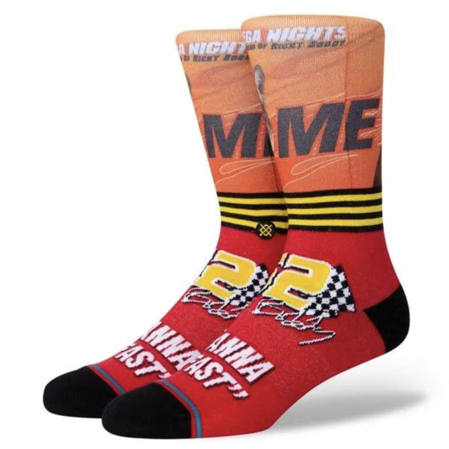 STANCE I WANNA GO FAST - RED | Socks by Stance Socks 1