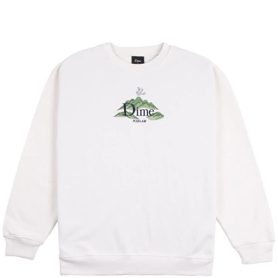 Dime Plein Air Crewneck - Cream | Sweatshirt by Dime 1