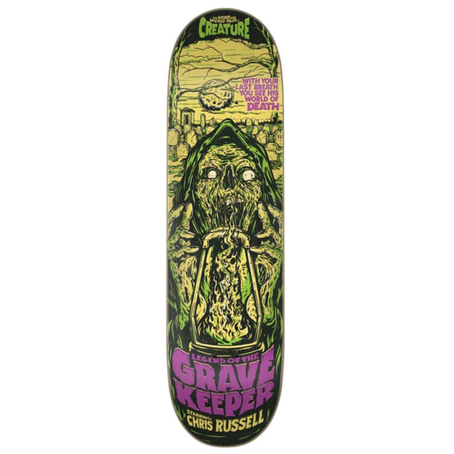 Creature Deck - Chris Russel Wicked Tales 8.5"