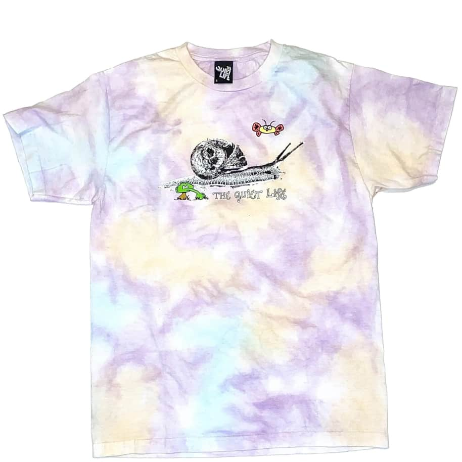 The Quiet Life Snail T-Shirt - Tie Dye | T-Shirt by The Quiet Life 1