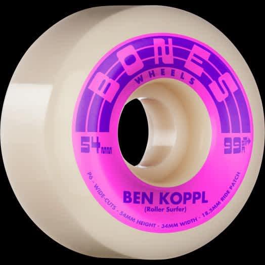 Bones Rollersurfer STF V6 Wheels - 54mm / 56mm | Wheels by BONES 1