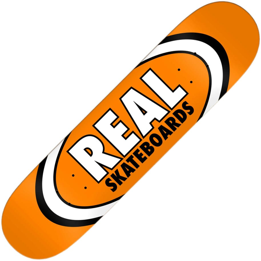 "Real Team Classic Oval True Mid deck (7.5"") 