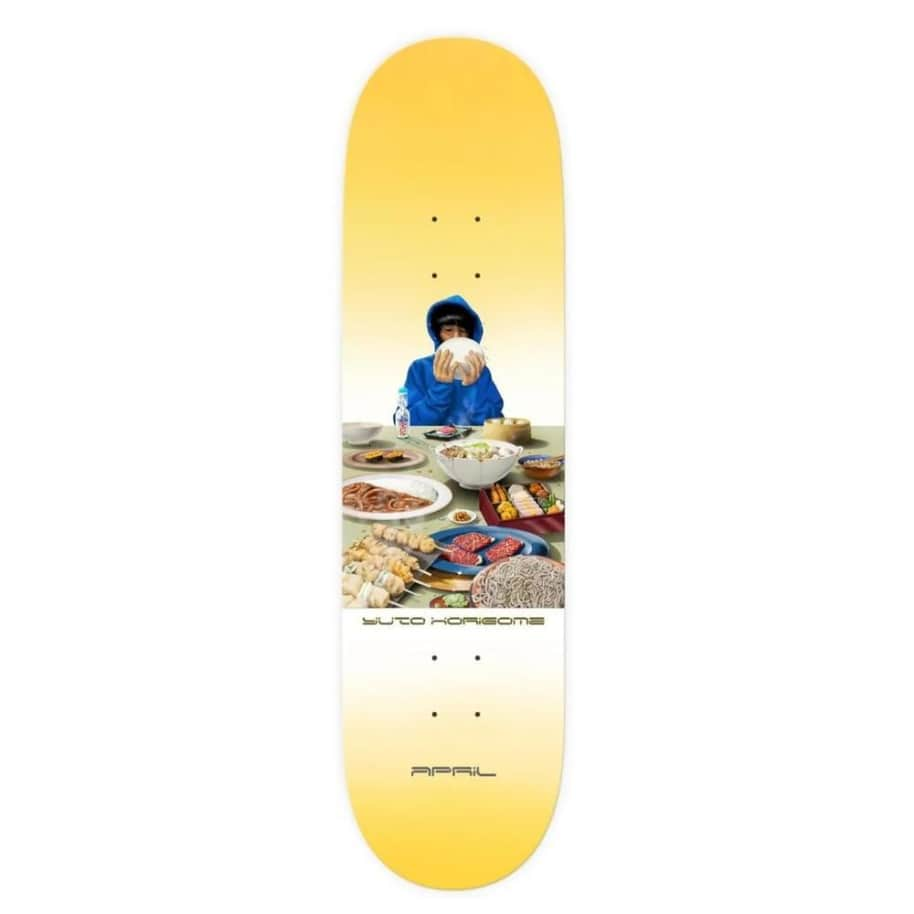 April Yuto Horigome Banquet - 7.8 | Deck by April Skateboards 1