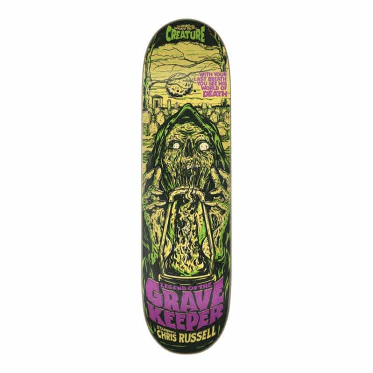 CREATURE RUSSELL WICKED TALES DECK - 8.5 | Deck by Creature Skateboards 1