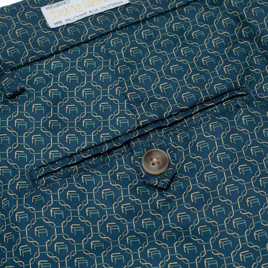 Fucking Awesome Patterned Dress Pants - Navy | Trousers by Fucking Awesome 6