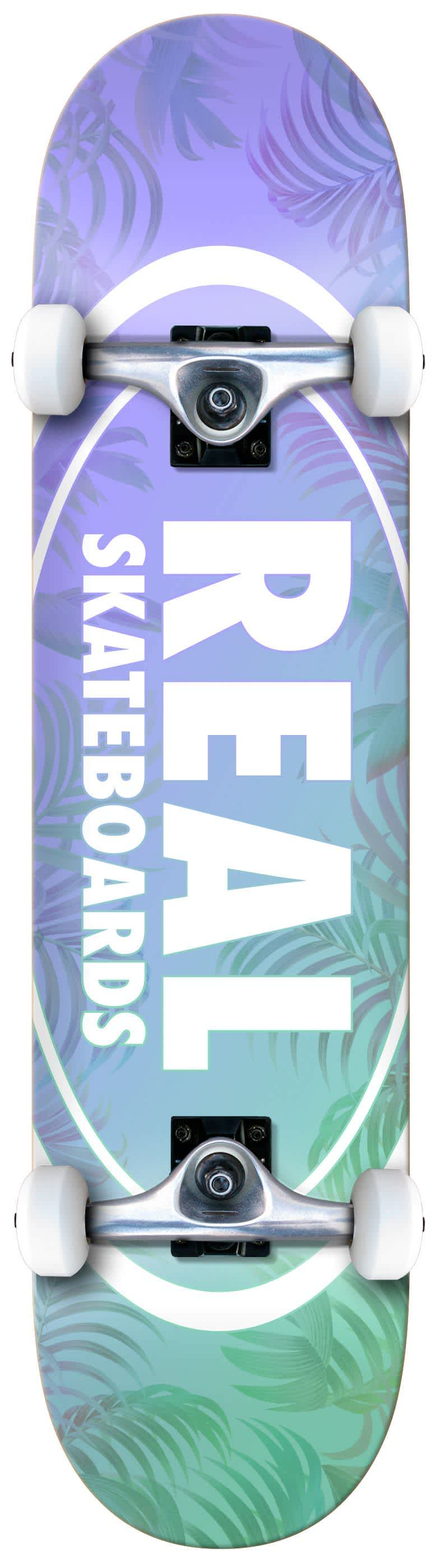 REAL Island Oval Complete 8.0 | Complete Skateboard by Real Skateboards 1