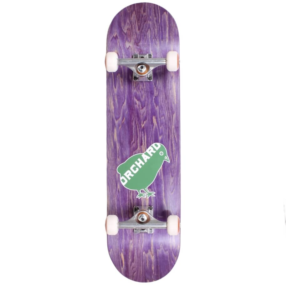 "Orchard Bird Logo Standard Complete 7.87"" Purple (With Free Skate Tool) 