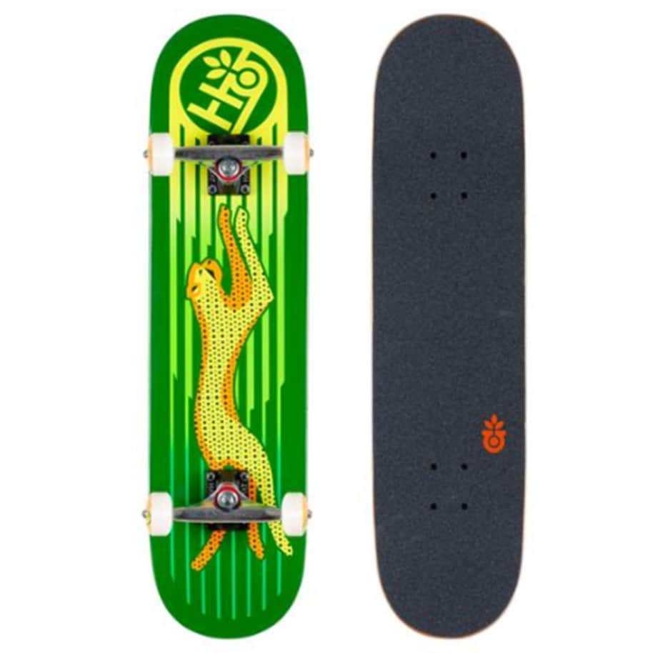 Habitat Complete - Neon Cheetah   Complete Skateboard by Habitat Skateboards 1