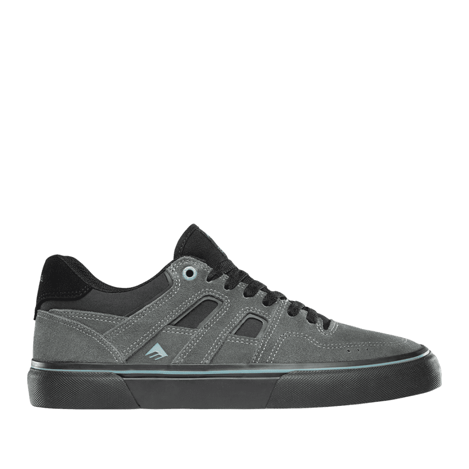 Emerica Tilt G6 Vulc Skate Shoes - Grey / Black / Blue | Shoes by Emerica 1