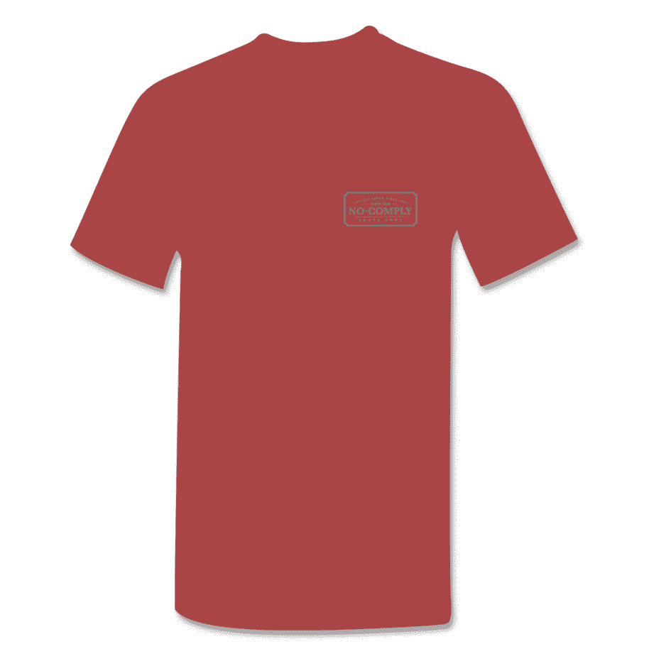 No-Comply Locally Grown Shirt - Cardinal Emerald | T-Shirt by No Comply 2