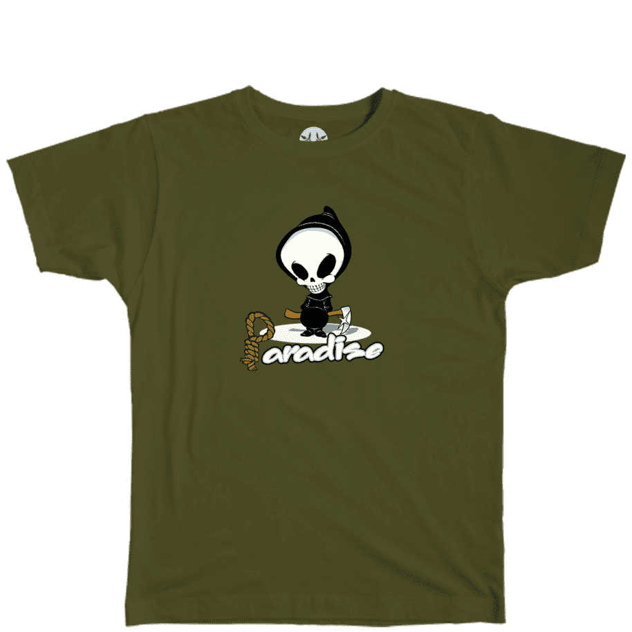 Paradise.NYC Reaper T-Shirt - Olive | T-Shirt by Paradise.NYC 1