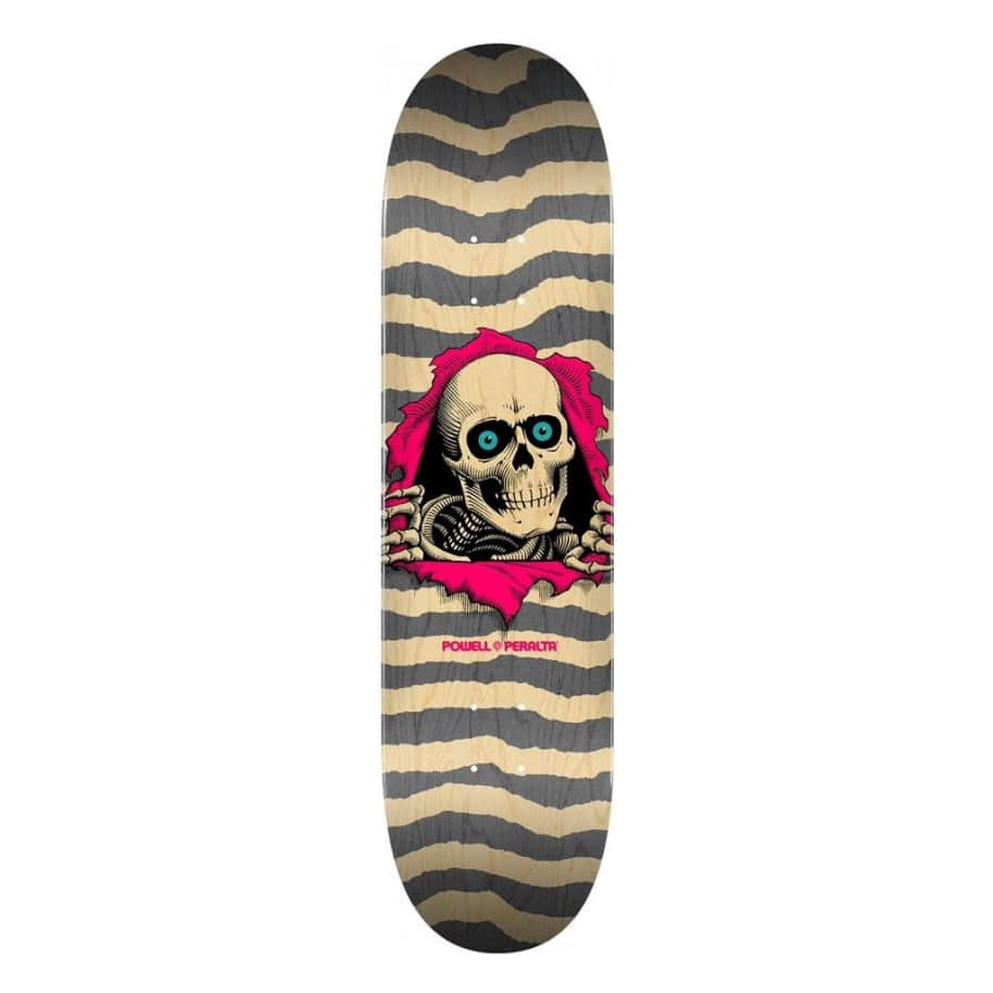 Ripper - Natural Grey - 8.25 | Deck by Powell Peralta 1