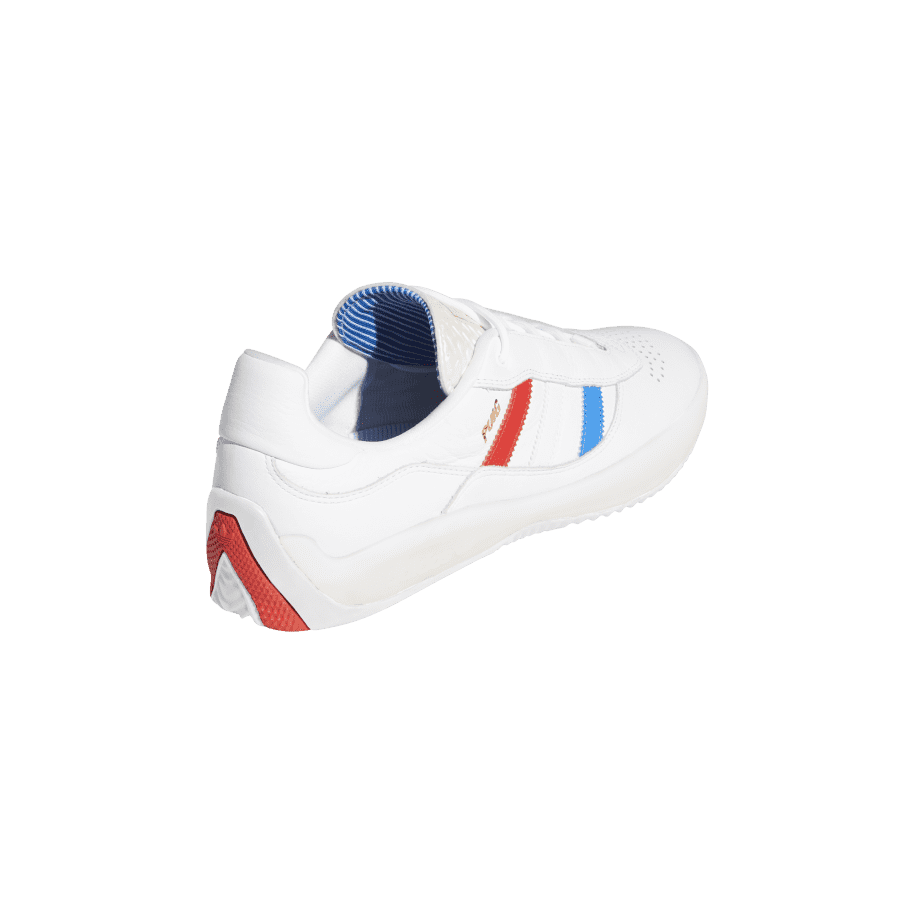 adidas Skateboarding Puig Shoes - Ftwr White / Bluebird / Vivid Red | Shoes by adidas Skateboarding 6