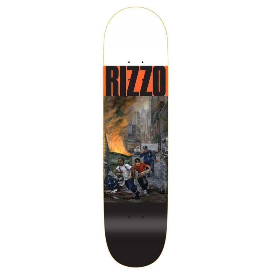 "Quasi Run Rizzo Skateboard Deck - 8.375"" | Deck by Quasi Skateboards 1"