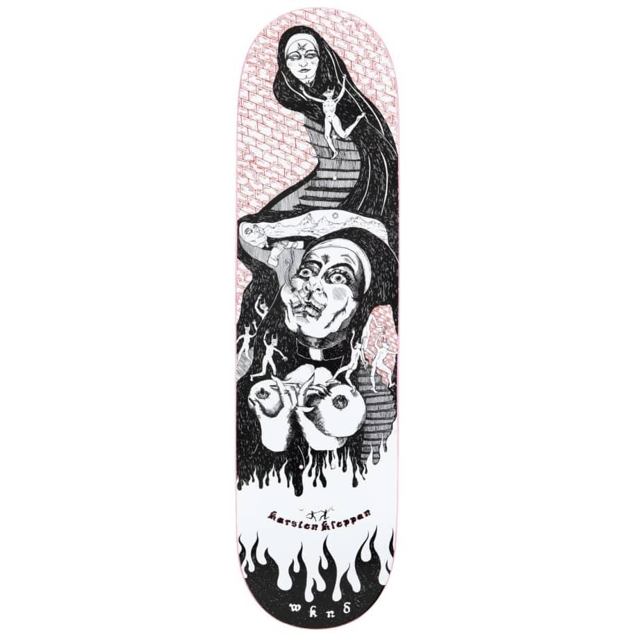 "WKND Sister Sin Karsten Kleppan Skateboard Deck - 8.5""   Deck by WKND 1"