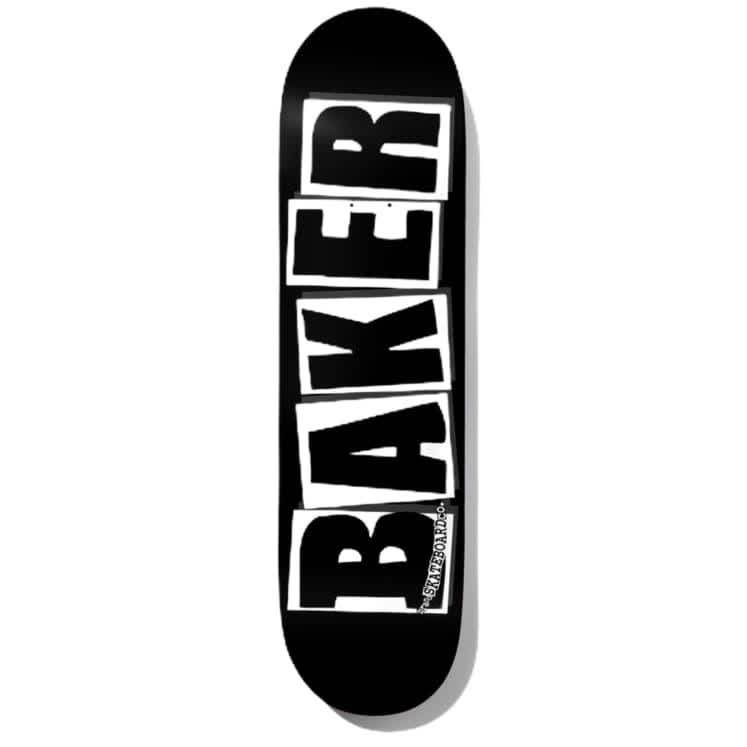 Baker - Brand Logo Deck 8.25 BLK/WHT | Deck by Baker Skateboards 1
