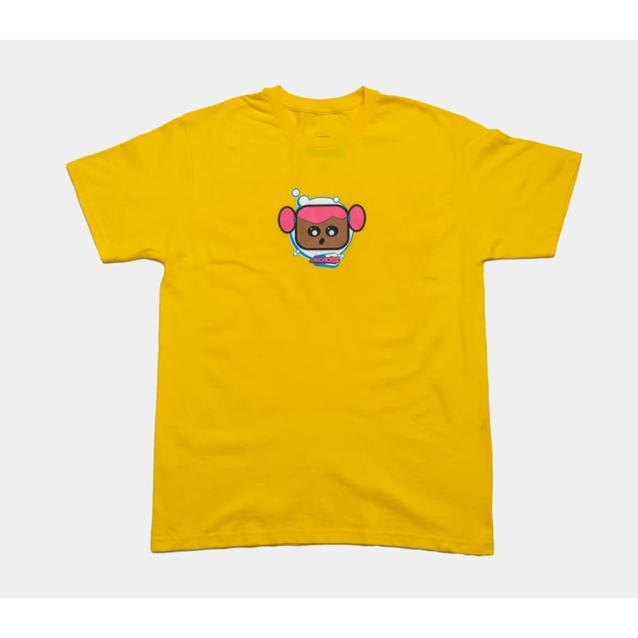 Decades Astro Girl Tee (Yellow)   T-Shirt by The Decades 1