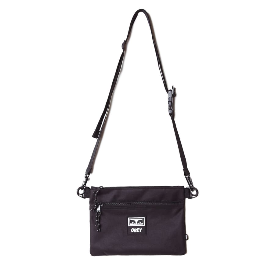 OBEY Conditions Side Bag III - Black | Shoulder Bag by OBEY Clothing 1